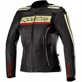 ALPINESTARS Stella Dyno V2 Lady Black / Stone / Red