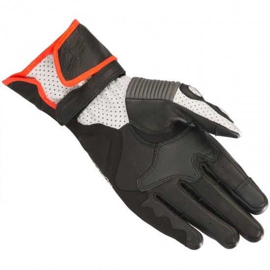 Guantes ALPINESTARS SP-2 V2 Black / Gray / Red Fluo