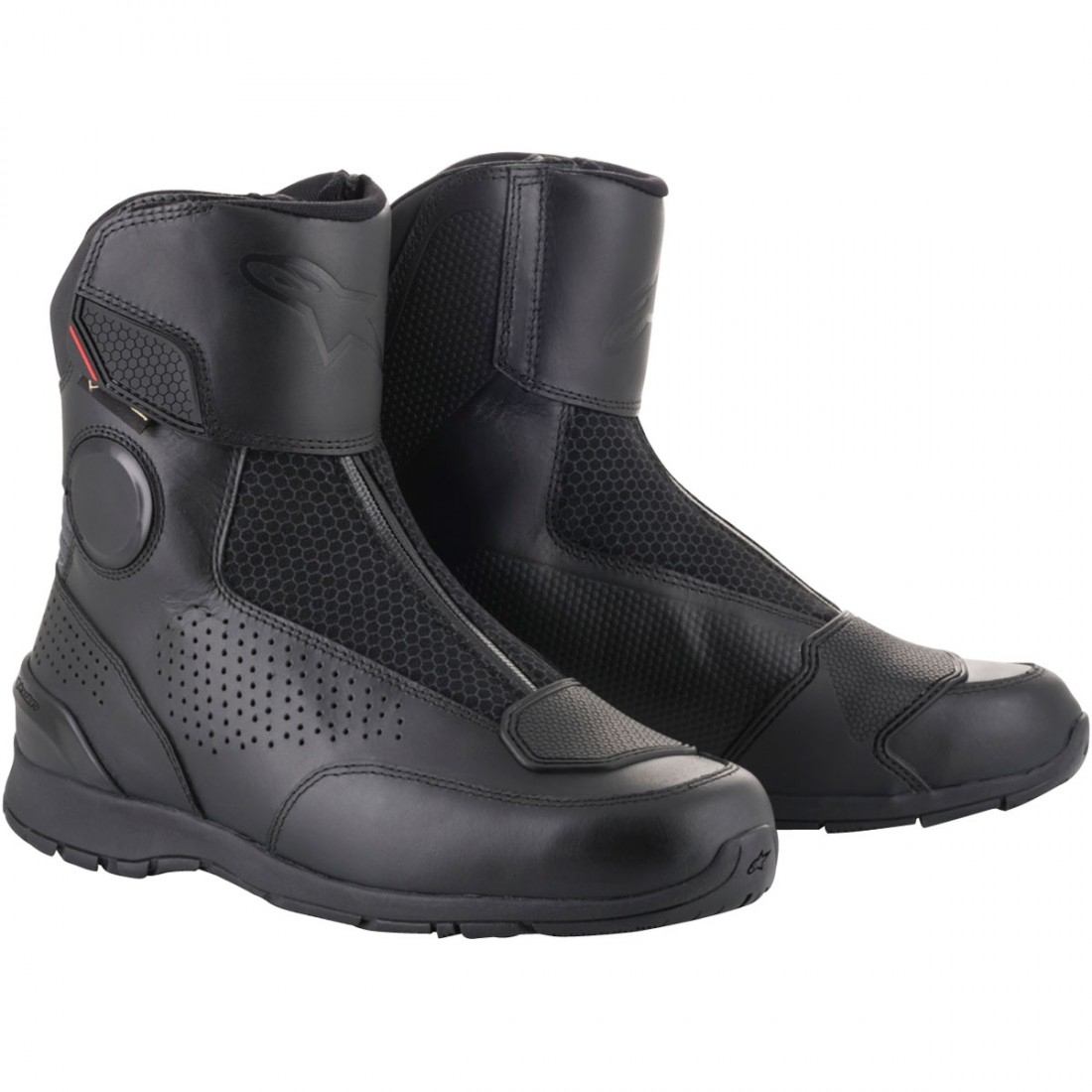 taille 7 check-out style distinctif ALPINESTARS Portland Gore-Tex Black Boots