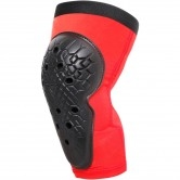 DAINESE Scarabeo Junior Knee Guards Black / Red