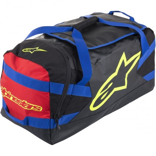 Bolsa ALPINESTARS Goanna Black / Blue / Red / Yellow Fluo