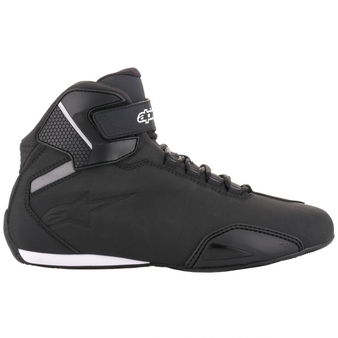 Bottes ALPINESTARS Faster-2 Black / White 13 (EU 47)