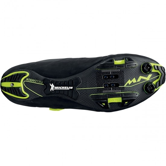 Zapatillas NORTHWAVE Ghost XC Black / Yellow Fluo