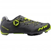 NORTHWAVE Ghost XCM Black / Yellow Fluo