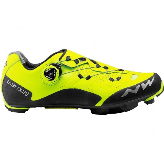 NORTHWAVE Ghost XCM Yellow Fluo / Black Shoe