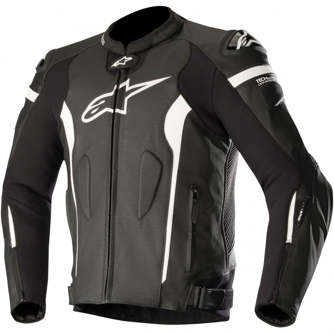 e9e6bd7a0fa Chaqueta ALPINESTARS Missile for Tech-Air Black   White Air · Motocard