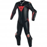 DAINESE Mugello R D-Air Black / Black / Fluo-Red