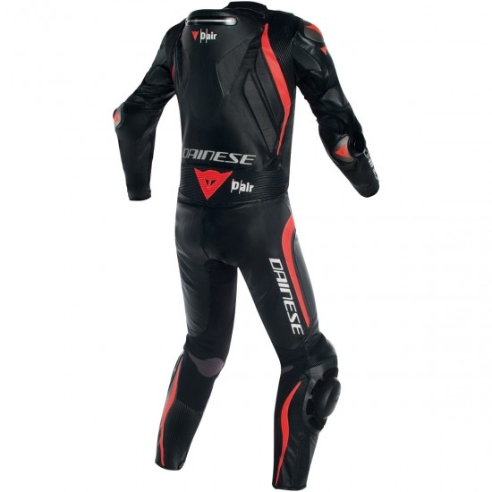 Traje / Mono DAINESE Mugello R D-Air Black / Black / Fluo-Red