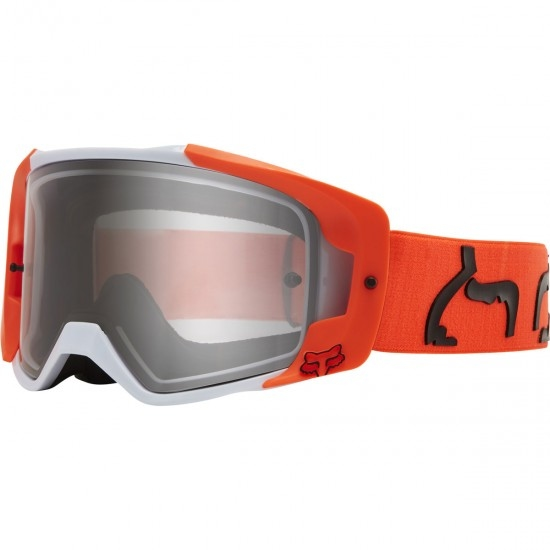 Brille FOX Vue Dusc Fluorescent Orange / Clear