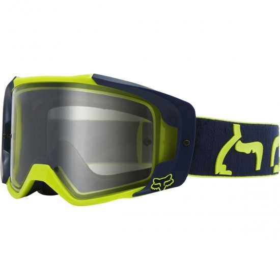 FOX Vue Dusc Navy / Clear Goggles
