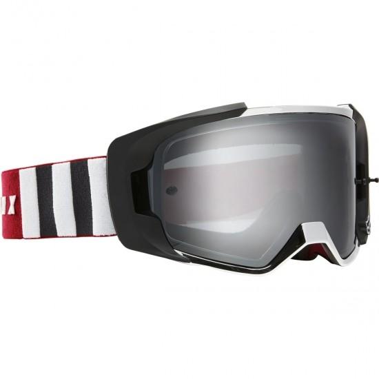 Maske / Brillen FOX Vue Vlar Flame Red / Chrome Mirror