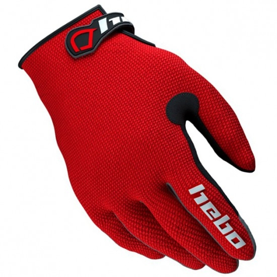 HEBO Team II Junior Red Gloves