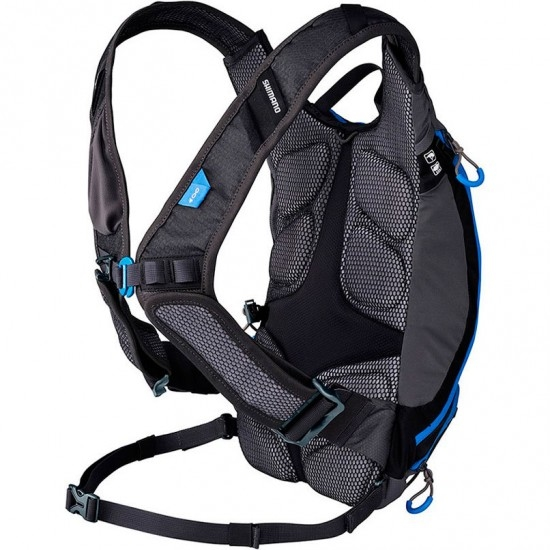SHIMANO Unzen 6 V15 Black / Blue Bag / Back pack