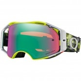 OAKLEY Airbrake MX Eli Tomac Signatures Series Military Digi Green / Prizm Mx Jade Iridium.