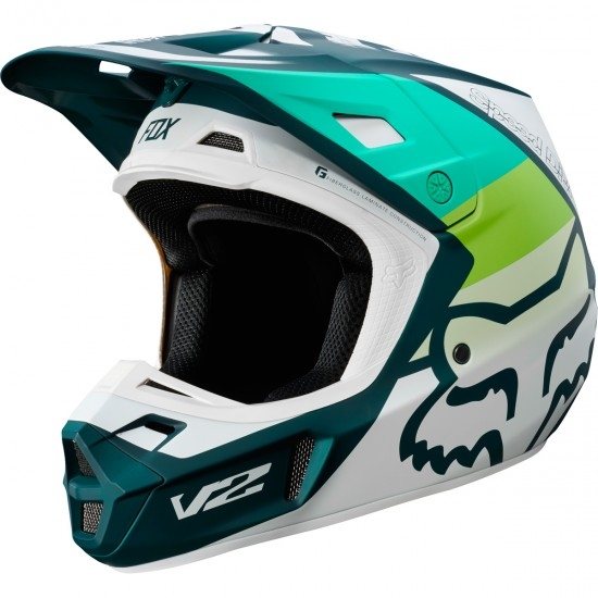 Casco FOX V2 Murc 2019 Matte Green
