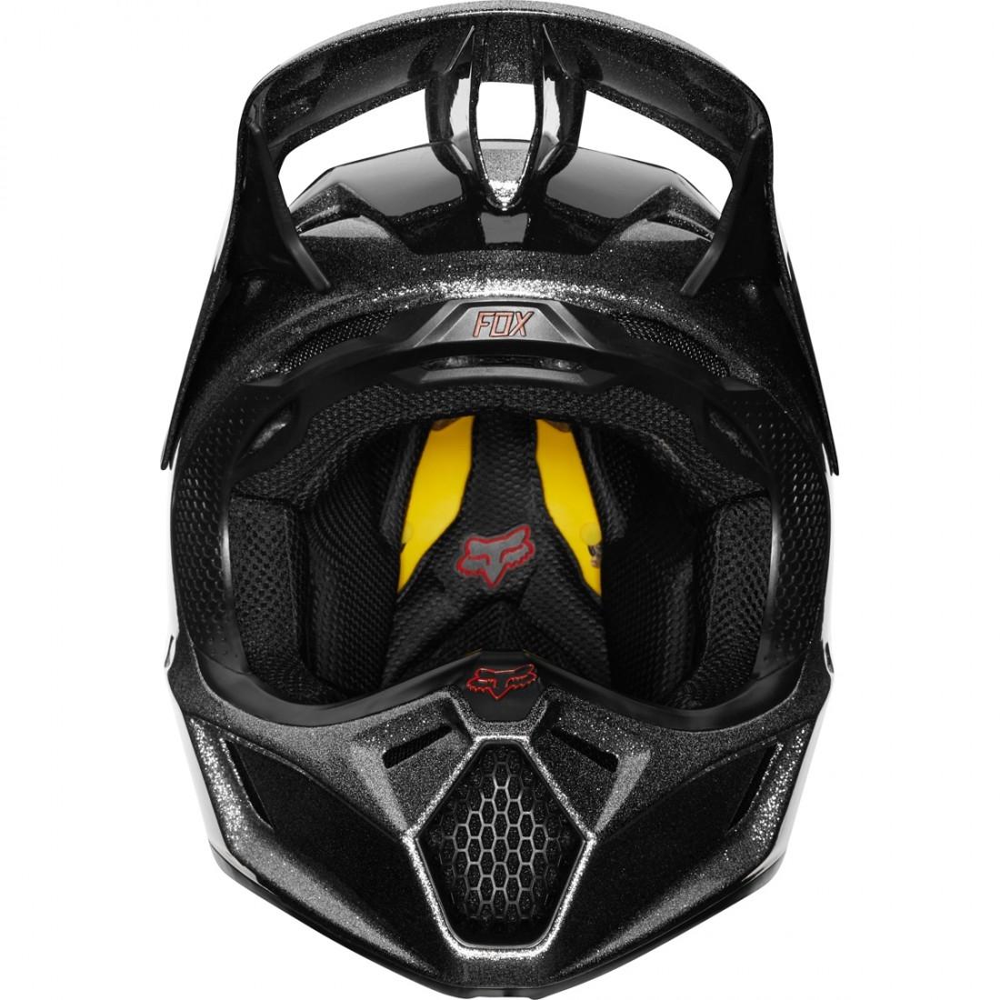 936a4025 FOX V3 Baz 2019 Pewter Helmet · Motocard