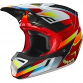 FOX V3 Motif 2019 Red / Yellow