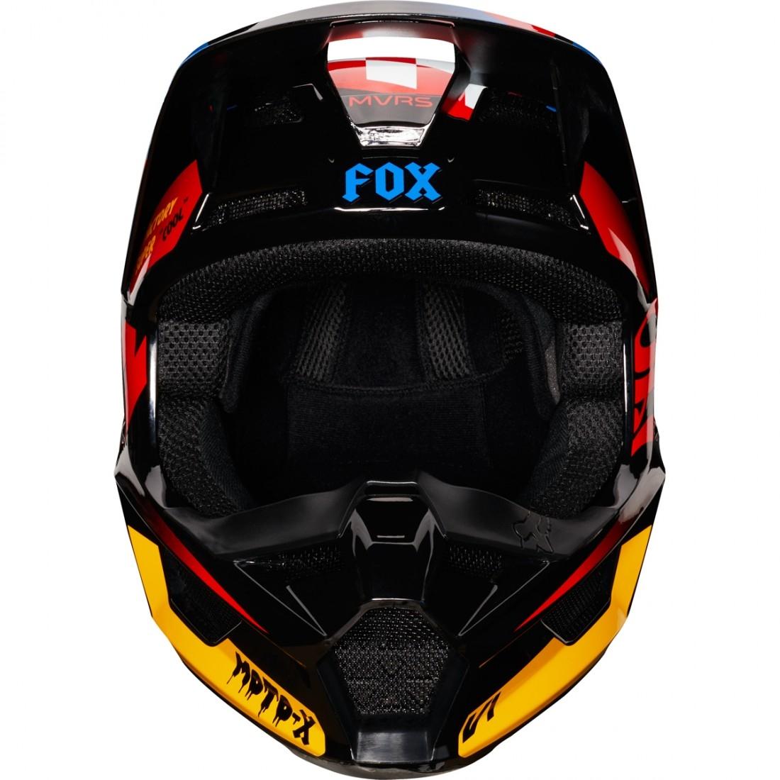 Black//Yellow Czar X-Large//XX-Large Fox Racing 2019 V1 Helmet Visor