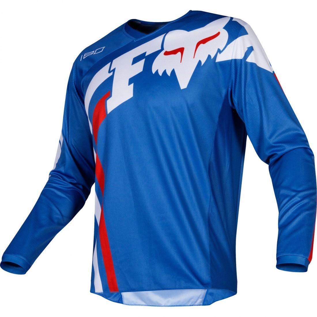 0a98d409a94ac Camiseta FOX 180 2019 Cota Blue · Motocard
