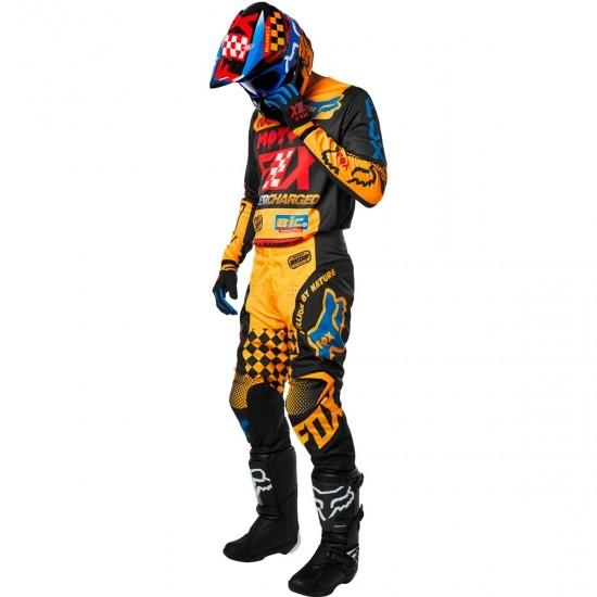 Maglietta FOX 180 2019 Czar Black / Yellow
