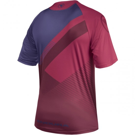 ENDURA SingleTrack Print T II Mulberry Limited Edition Jersey