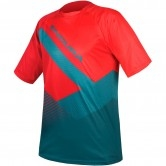 ENDURA SingleTrack Print T II Petrol Limited Edition