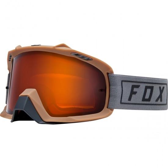FOX Air Space Enduro Grey / Orange Goggles