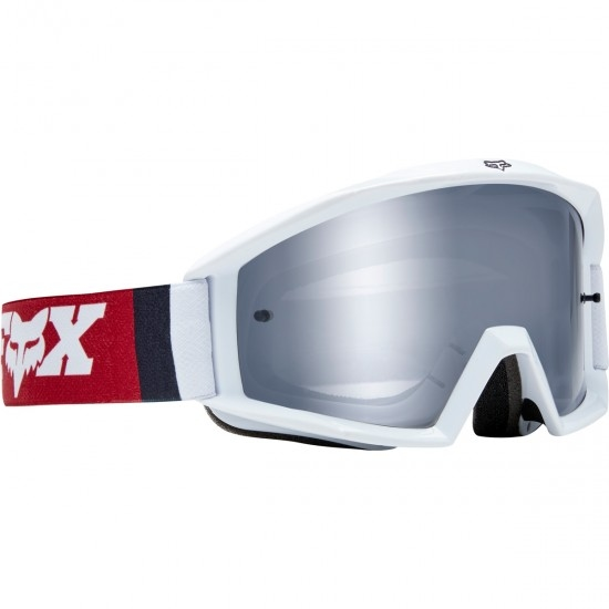 Gafas FOX Main Cota Cardinal / Chrome Mirrored
