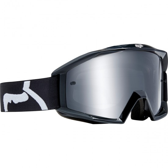 FOX Main Race Black / Clear Goggles