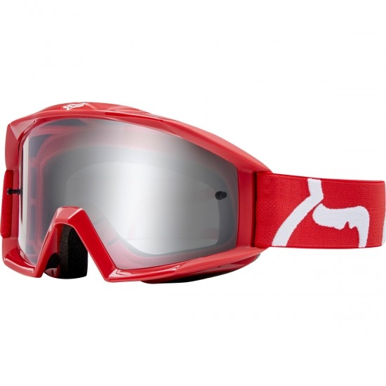 FOX Main Race Red / Clear Goggles