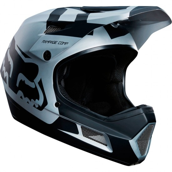 Casque FOX Rampage Comp 2018 Black / Chrome