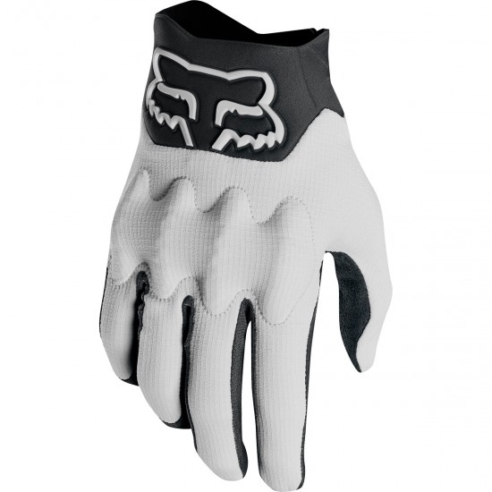FOX Bomber Light 2019 Light Grey Gloves