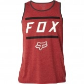 FOX Listless Tech Tank Heather Burgundy