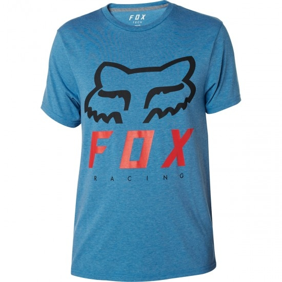 Maglietta FOX Heritage Forger Tech Heather Blue