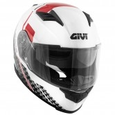GIVI 50.5 Tridion Magnus White / Black / Red