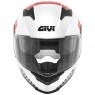 Casco GIVI 50.5 Tridion Magnus White / Black / Red
