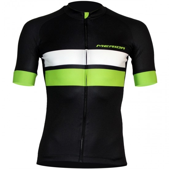 Bike Trikot MERIDA Race SS Black / Green / White