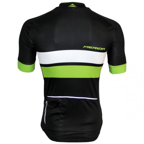 MERIDA Race SS Black / Green / White Jersey