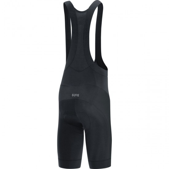 C3 Bib Shorts+ 2019 Black