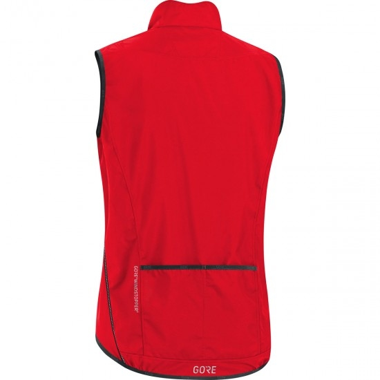 Colete GORE C3 Gore Windstopper Light Red