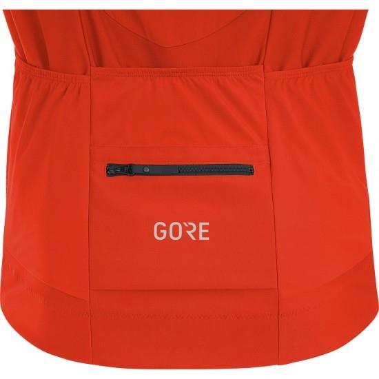 GORE C7 Gore Windstopper Pro Zip-Off Orange.com / Black Jersey
