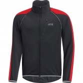 GORE C3 Gore Windstopper Phantom Zip-Off Black / Red