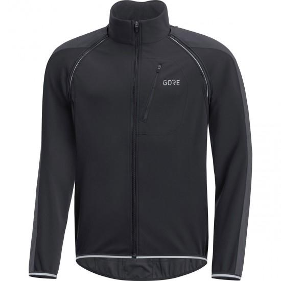 GORE C3 Gore Windstopper Phantom Zip-Off Castor Black / Terra Grey Jacket