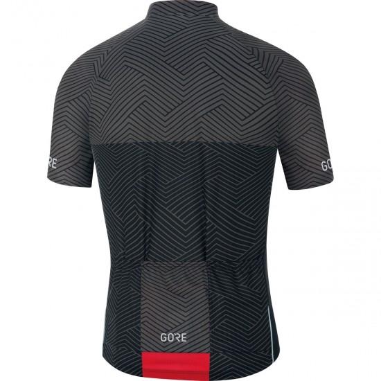 GORE C3 Optiline Graphite Grey / Black Jersey