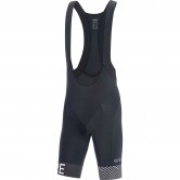 GORE C5 Optiline Bib Shorts + Black / White