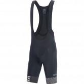 C5 Optiline Bib Shorts + Black / White