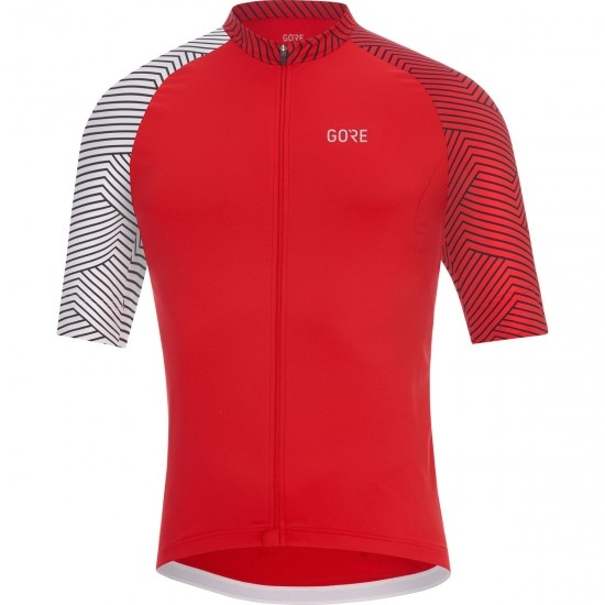GORE C5 Optiline Red / White Jersey