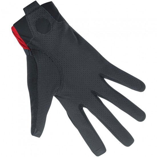 GORE C7 Pro Black / Red Gloves