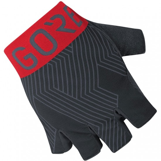 Guantes GORE C7 Pro Short Finger Black / Red