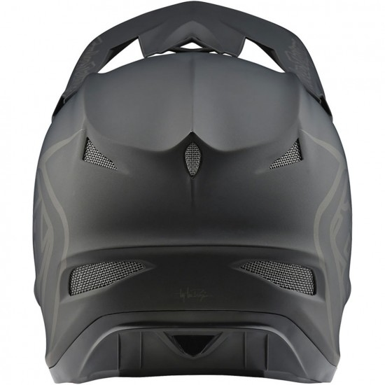 Casco TROY LEE DESIGNS D3 Fiberlite Mono Black